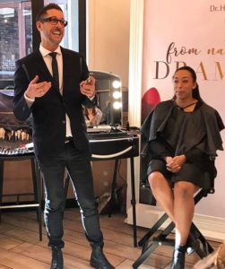 Makeup Artist bei Albany mit einer Cantoni Station