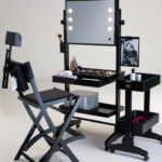 L200 mobile Make-Up Station mit Stuhl