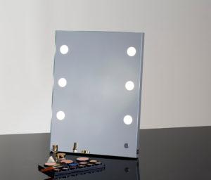 Tisch Make-Up Spiegel MDE504 mit 6 LED ILights