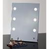 Visagisten Spiegel mit Profi Beleuchtung MDE504