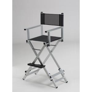 Alu Visagisten und Stylisten Stuhl höhenverstellbar