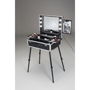 beleuchtete Schminkkoffer für Make-Up Artists und Stylisten