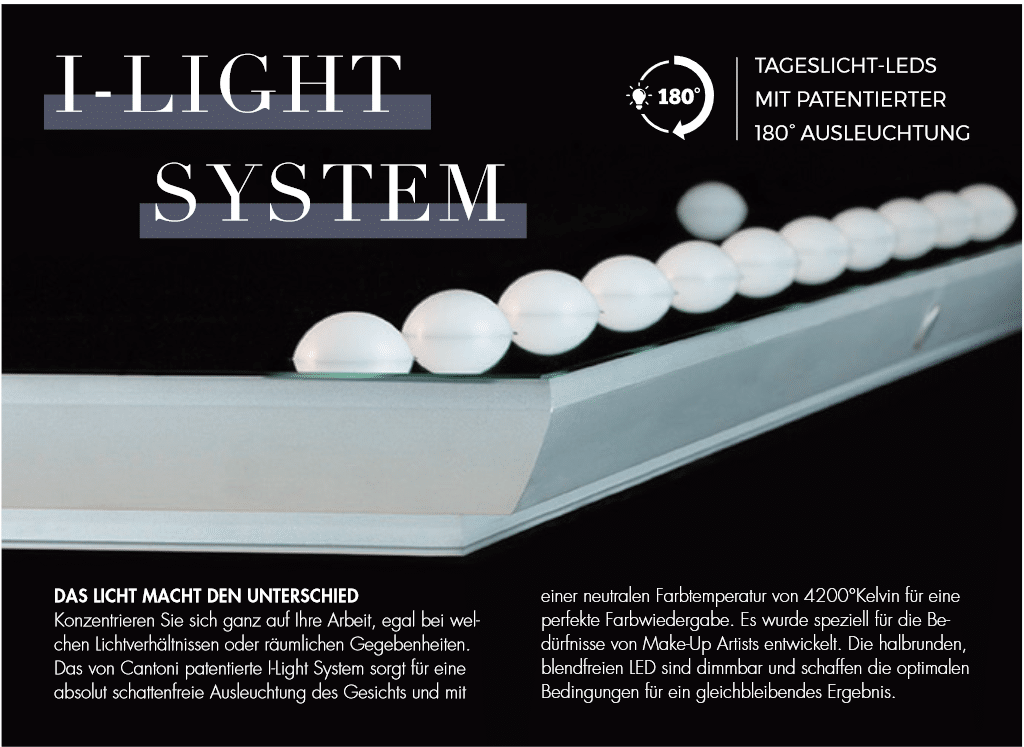 I-Light System von Cantoni