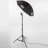 Studio Beleuchtungsset TRI425 Stativ Lichthalter Schirm